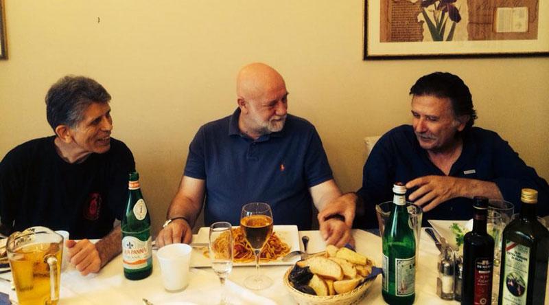 Stanley Pranin, Ulf Evenas, Paolo Corallini, Osimo, Italy, September 2015